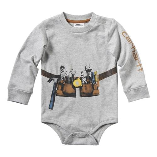 Carhartt® Infants'/Toddlers' Construction Stack Bodyshirt?>