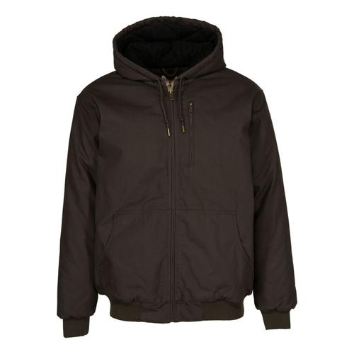 RedHead® Men's Washed Canvas Hooded Jacket?>