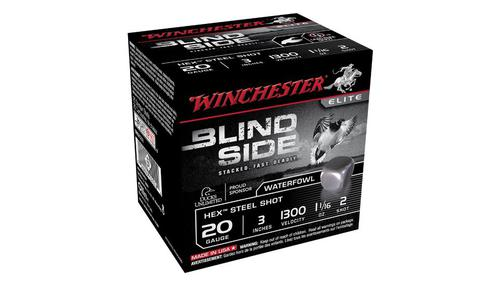 Winchester Blind Side 20 Gauge Steel Shotshells?>