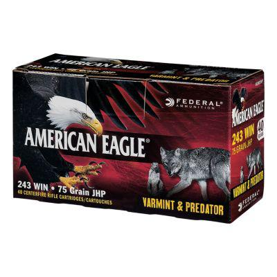 American Eagle Varmint & Predator Rifle Ammunition?>