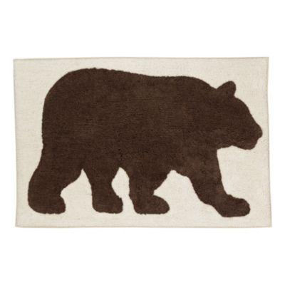 Saturday Knight Ltd. Home Timber Ridge Collection Bear Rug?>