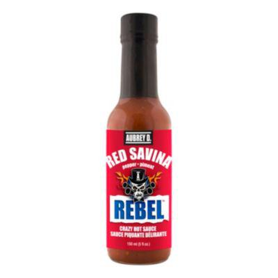 Aubrey D. Rebel Red Savina Hot Sauce?>
