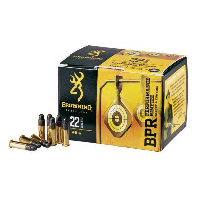Browning® BPR Performance Rimfire Ammunition?>