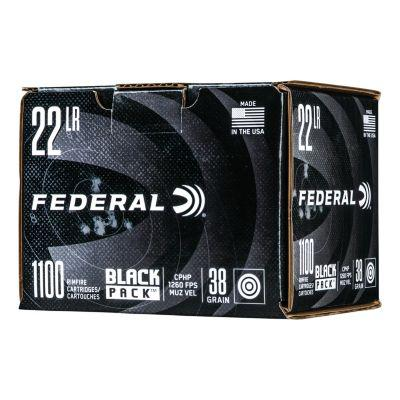 Federal® Black Pack™ Rimfire and Pistol Ammunition?>