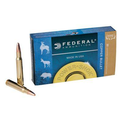 Federal® Power-Shok Copper Rifle Ammunition?>