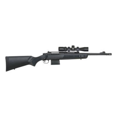 Mossberg® MVP® Scout Bolt Action Rifle w/ Vortex® Crossfire II Scout Scope?>