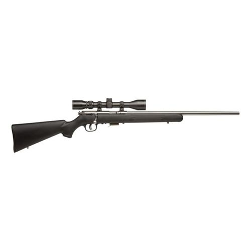Savage 93 FVSS Bolt Action Rifle w/ AccuTrigger & Scope?>