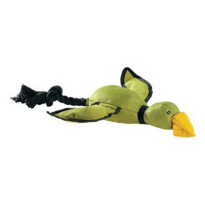 Cabela's Flying Green Duck Dog Toy?>
