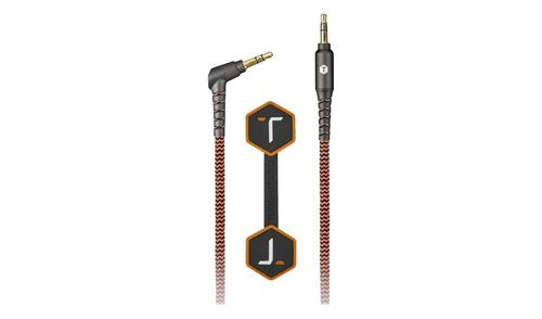Tough Tested® Durable Braided Fabric 3.5mm Auxiliary Cable?>