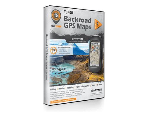 Backroad Mapbooks Yukon GPS Maps?>