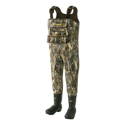 Cabela's SuperMag™ II 1600-Gram Hunting Chest Waders – Stout?>