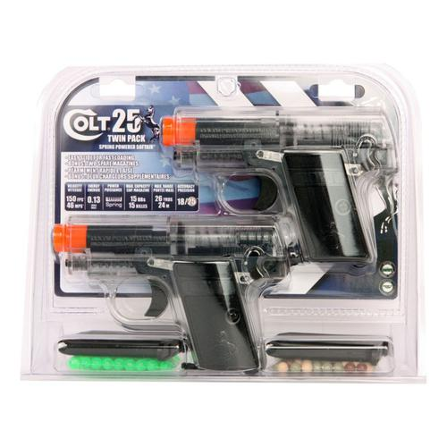 Colt .25 Spring Airsoft Pistol Twin Pack?>