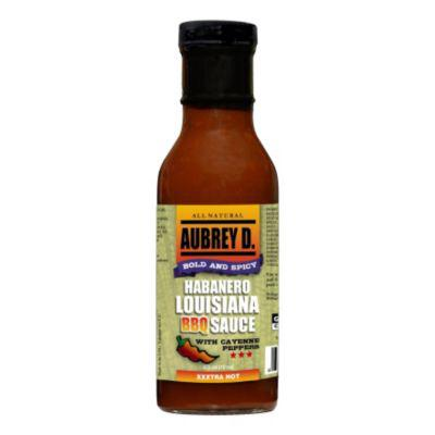 Aubrey D. Habanero Louisiana BBQ Sauce with Cayenne Peppers?>