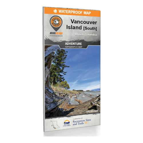 Backroad Mapbooks - Vancouver Island BC South Waterproof Map?>