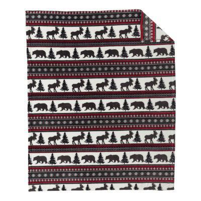 White River™ Coral Fleece Throw?>