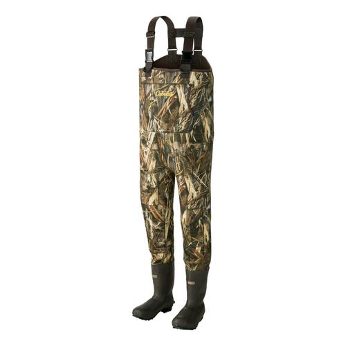 Cabela's Men's 5mm Armor-Flex™ Chest Waders with Lug Soles – Tall?>