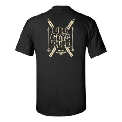 Old Guys Rule® Men's Downhill Short-Sleeve T-Shirt?>
