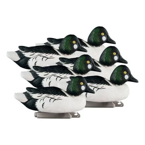 Higdon Outdoors Standard Foam-Filled Goldeneye Drake Decoys – Six-Pack?>