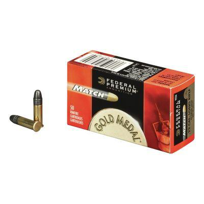 Federal Match .22 LR Solid Rimfire Ammunition?>