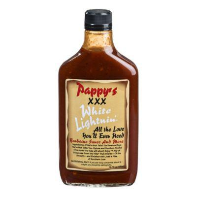 Pappy's XXX White Lightnin' Barbecue Sauce?>