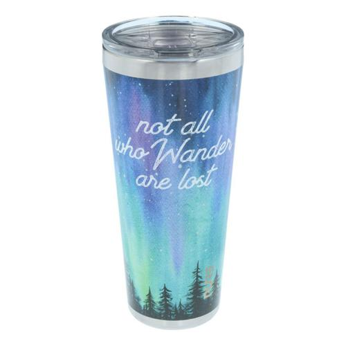 PURE Drinkware Not All Who Wander Are Lost Stainless Steel 32 oz. Tumbler?>