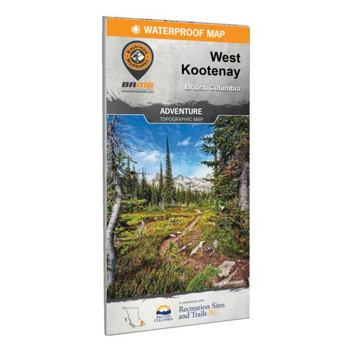 Backroad Mapbooks West Kootenay BC Waterproof Map 7th Edition?>