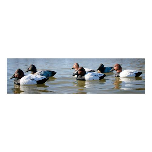 Higdon Outdoors Standard Foam-Filled Canvasback Decoys – Six-Pack?>