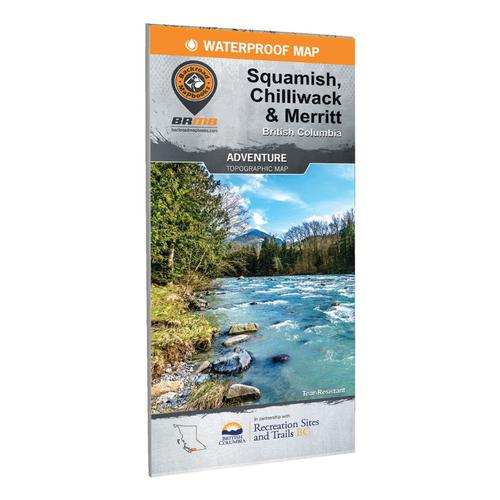 Backroad Mapbooks - Squamish, Chilliwack and Merritt Waterproof Map?>