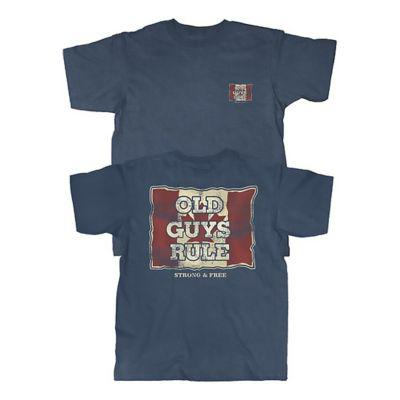Old Guys Rule® Flag Served Short-Sleeve T-Shirt?>