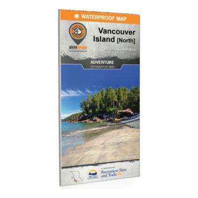 Backroad Mapbooks - North Vancouver Island BC Waterproof map?>