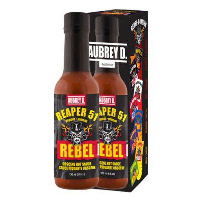 Aubrey D. Rebel Reaper 51 Hot Sauce?>