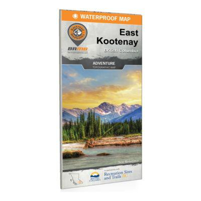 Backroad Mapbooks - East Kootenay BC Waterproof Map?>