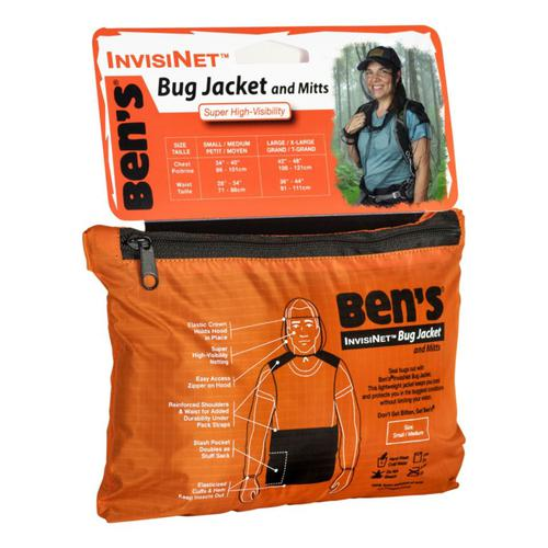 Ben's® InvisiNet Bug Jacket & Mittens?>
