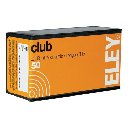 Eley .22 LR Club Rifle Ammunition?>
