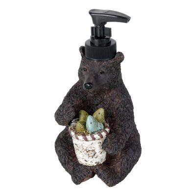 Saturday Knight Ltd. Home Timber Ridge Bathroom Collection Bear Lotion Dispenser?>