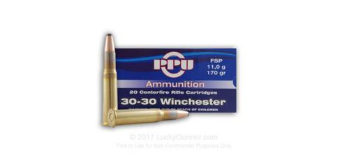 PRVI 30-30 Win 170gr FSP - Box of 20 rounds?>