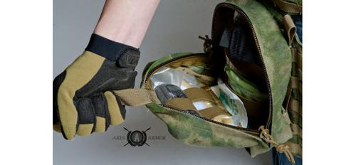 RAIDER QUICK PULL MEDICAL POUCH IN OLIVE DRAB GREEN?>