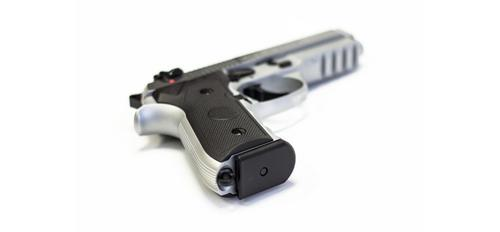 "Yavuz 16 Bright White Compact Rail 9mm 4.5"" Pistol?>"