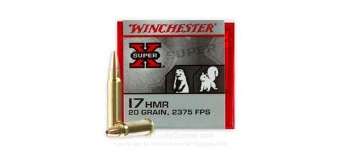 Winchester .17 HMR SUPER-X - 20gr XTP - Box of 50 rounds?>