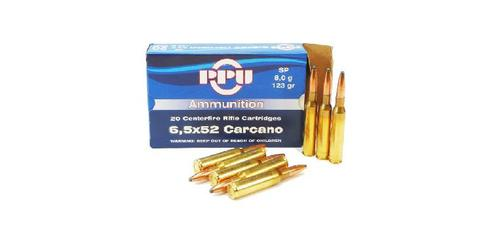 6.5x52 Carcano 123gr SP - Box of 20?>