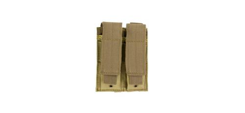 Double Pistol Mag Pouch in Tan?>