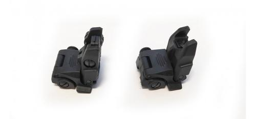 Dominion Arms Flip-Up Front and Rear Sights Combo?>