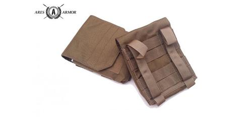 MOLLE SIDE PLATE ADAPTER (SET OF 2) IN COYOTE TAN?>