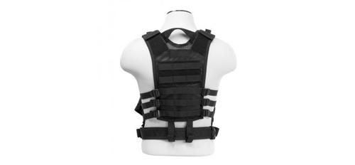Tactical Vest [Extra Small to Small] - Black?>