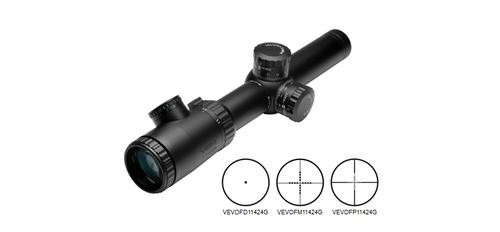 VISM Evolution Series 1.1 - 4x24 Full Size Sniper Scope with Blue & Green Illumination?>