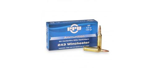PRVI .243 Win - 100gr Soft Point - Box of 20rds?>