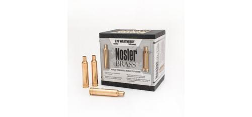 Nosler Brass - .270 Weatherby - Box of 50 pieces?>