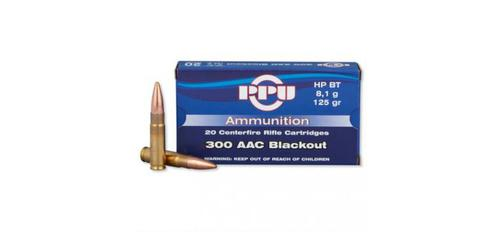 PRVI .300 Blackout 125gr HPBT - Box of 20 Rounds?>