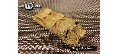 MOLLE SHINGLE MAG POUCH - SINGLE IN COYOTE TAN?>