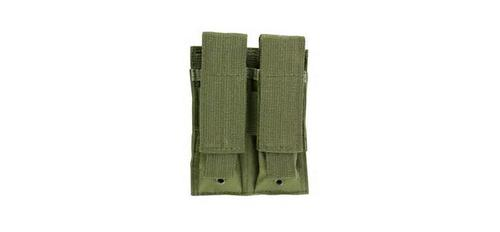 Double Pistol Mag Pouch in Green?>